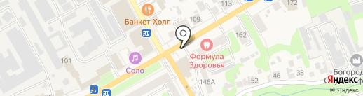 Киоск по продаже печатной продукции на карте Богородска
