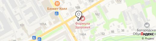 Адвокатский кабинет Семернина С.П. на карте Богородска