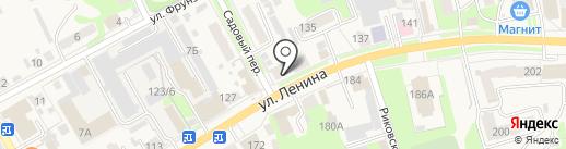 Богородская газета на карте Богородска