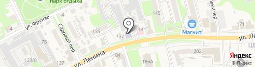 Начальная общеобразовательная школа №4 на карте Богородска