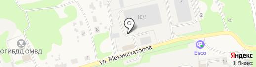 Центр Промышленного Снабжения на карте Богородска