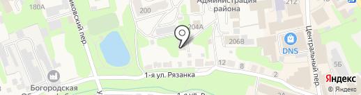 Богородский межрайонный следственный отдел на карте Богородска