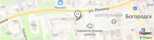 Техинвентаризация на карте Богородска
