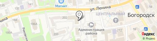 ТНС ЭНЕРГО НИЖНИЙ НОВГОРОД, ПАО на карте Богородска