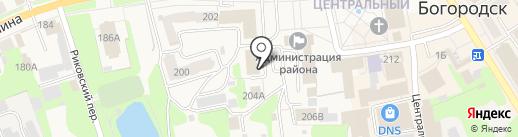 Банкомат, Сбербанк, ПАО на карте Богородска