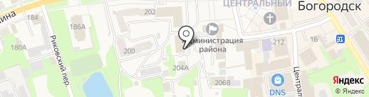 Сбербанк, ПАО на карте Богородска