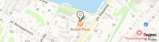 Сова на карте Богородска