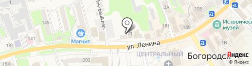 Агентство недвижимости на карте Богородска
