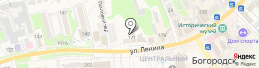 Ювелирная мастерская на карте Богородска