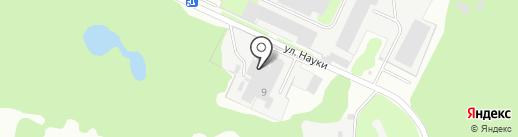 ВК на карте Дзержинска