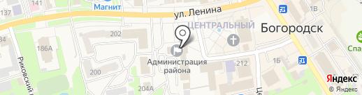 Сектор по работе с обращениями граждан, СМИ и общественными организациями на карте Богородска