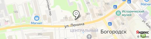 Нотариус Колесов О.М. на карте Богородска