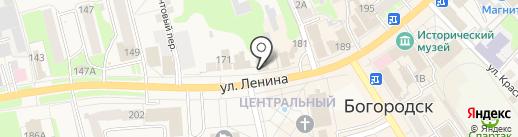Социальное агентство недвижимости на карте Богородска