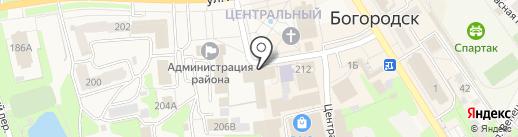Банкомат, Почта Банк, ПАО на карте Богородска