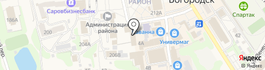 EMS Почта России на карте Богородска
