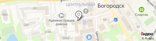 Ростелеком, ПАО на карте Богородска