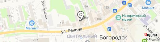 Мир АвтоЧехлов на карте Богородска
