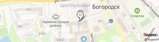 Межшкольный учебный комбинат на карте Богородска