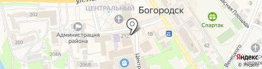 Росгосстрах банк, ПАО на карте Богородска