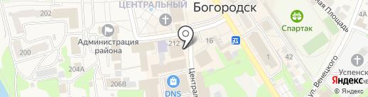 Магазин сумок на карте Богородска