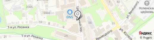 Магазин нижнего белья на карте Богородска