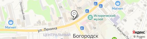 Банкомат, Банк ВТБ 24, ПАО на карте Богородска