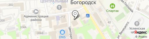 Крошка-Антошка на карте Богородска
