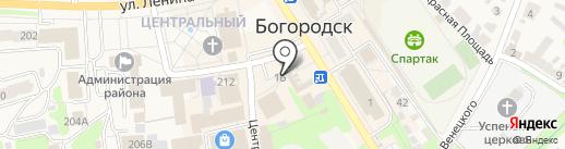 Телефон.ру на карте Богородска