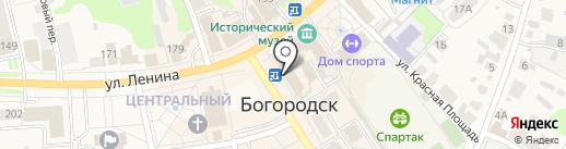 Агентство переводов с иностранных языков на карте Богородска