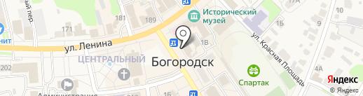 Управление Федеральной службы государственной регистрации, кадастра и картографии по Нижегородской области на карте Богородска