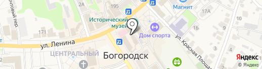 ИмпериалЪ на карте Богородска