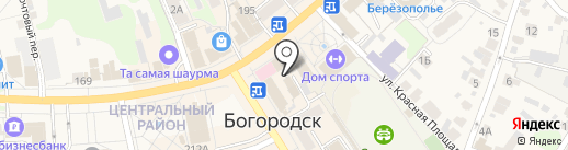Вита Экспресс на карте Богородска