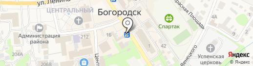 Магазин цветов на карте Богородска