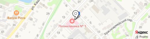 Богородская городская поликлиника на карте Богородска