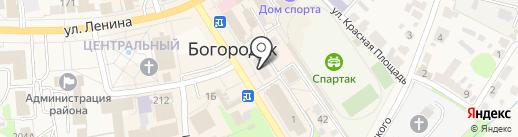 Волго-Вятский банк Сбербанка России на карте Богородска