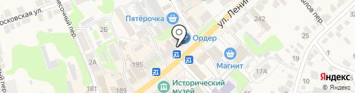 Мастерская по изготовлению ключей на карте Богородска
