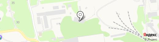 Пилорама на Садовой на карте Богородска