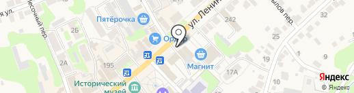 Магазин пиломатериалов на карте Богородска