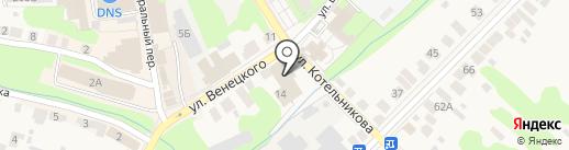 Магазин игрушек на карте Богородска