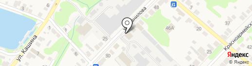 Хромтан, ЗАО на карте Богородска