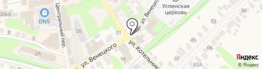 Церковная лавка на карте Богородска
