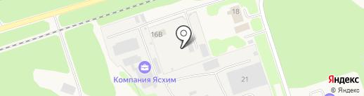 Кабель ПК на карте Гидроторфа