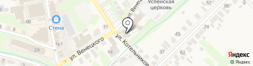 Приход Церкви Покрова Пресвятой Богородицы на карте Богородска