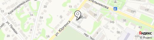 Автокомплекс на карте Богородска