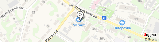 Звезда на карте Богородска