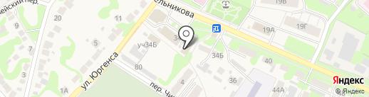 Шиномонтажная мастерская на карте Богородска