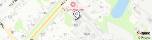 Богородский завод домостроительных материалов на карте Богородска