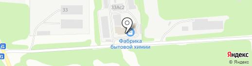 Фабрика Бытовой Химии на карте Дзержинска