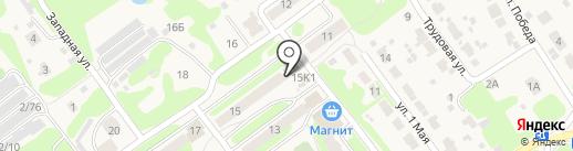 Киоск по продаже печатной продукции на карте Гидроторфа