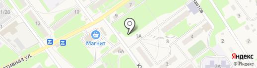 Юбилейный на карте Гидроторфа